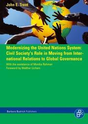 Cover of: Modernizing the United Nations System