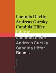 Cover of: Lucinda Devlin/Andreas Gursky/Candida Hofer