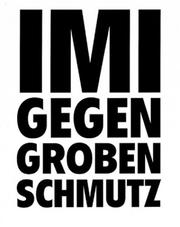 Cover of: Imi Knoebel