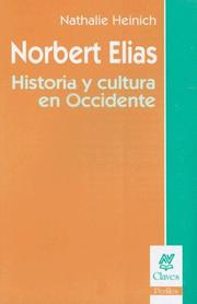 Cover of: Norbert Elias