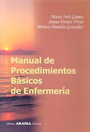 Cover of: Manual de Procedimientos Basicos de Enfermeria