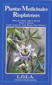 Cover of: Plantas medicinales rioplatenses