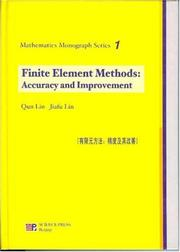 Cover of: Finite Element Methods