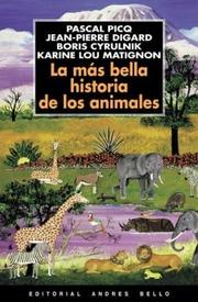 Cover of: La Mas Bella Historia de Los Animales