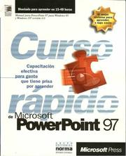 Cover of: MS PowerPoint 97 Curso Rapido