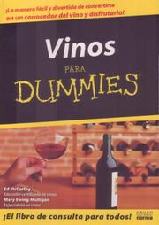Cover of: Vino Para Dummies/wine For Dummies