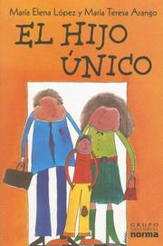 Cover of: El Hijo Unico / The Only Child