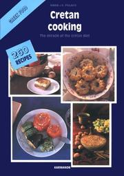 Cover of: Cretan Cooking