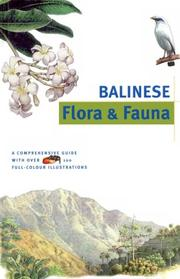 Cover of: Balinese Flora & Fauna (Discover Indonesia Series)