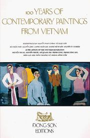 Cover of: 100 Years of Contemporary Paintings from Vietnam