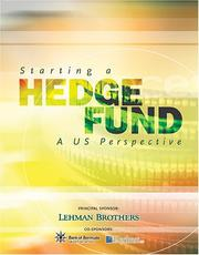 Cover of: Starting a Hedge Fund