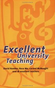 Cover of: Excellent University Teaching