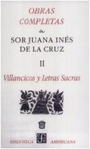 Cover of: Volumen II Villancicos Y Letras Sacras