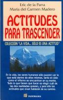 Cover of: Actitudes Para Trascender/ Attitudes to Go Beyond