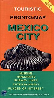 Cover of: Mexico City Pronto Map