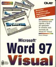 Cover of: MS Word 97 Visual