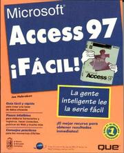 Cover of: MS Access 97 Facil
