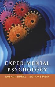 Cover of: Experimental Psychology