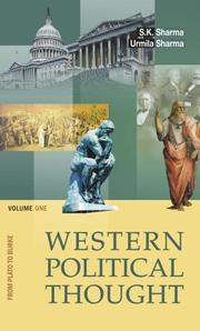 Cover of: Western Political Thought