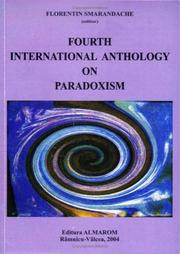 Cover of: Fourth International Anthology on Paradoxism