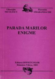 Cover of: Parada Marilor Enigme