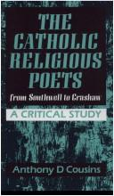 Cover of: The Catholic religious poets from Southwell to Crashaw