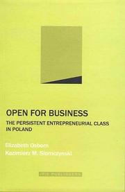 Cover of: Open for Business