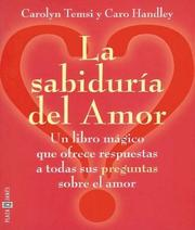 Cover of: Sabiduria del Amor, La