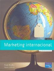 Cover of: Marketing Internacional