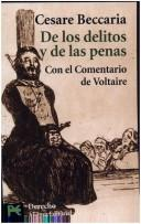 Cover of: De los delitos y de las penas/ On Crimes and Punishments (Ciencias Sociales/ Social Sciences)