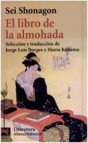 Cover of: El libro de la almohada/ The Pillow Book of Sei Shonagon (Literatura/ Literature)