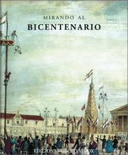 Cover of: Mirando Al Bicentenario