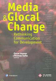 Cover of: Media and Glocal Change