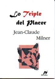 Cover of: Lo Triple del Placer
