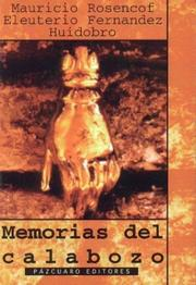 Cover of: Memorias del Calabozo