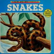 Cover of: The how and why sticker book of snakes