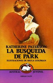 Cover of: LA Busqueda De Park/Park's Quest