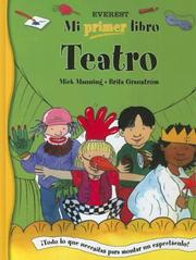 Cover of: Teatro / Theater (Mi Primer Libro / My First Book)