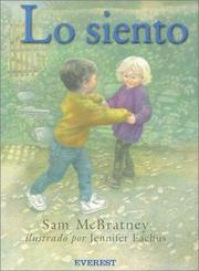 Cover of: Lo Siento