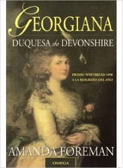 Cover of: Georgina Duquesa de Devonshire