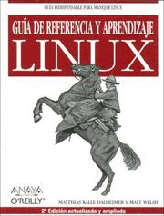 Cover of: Guia De Referencia Y Aprendizaje Linux (Anaya Multimeda/O'Reilly)