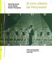 Cover of: El Cine Clasico De Hollywood