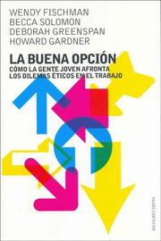 Cover of: La buena opcion / Making Good