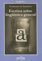 Cover of: Escritos Sobre Linguistica General (Linguistica)