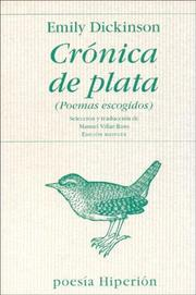 Cover of: Cronica de Plata - Poemas Escogidos