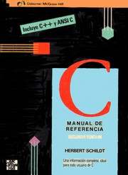 Cover of: C Manual Referencia C ++ y Ansic