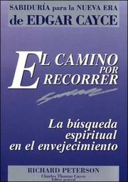 Cover of: Camino Por Recorrer, El