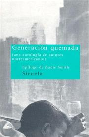 Cover of: Generacion Quemada