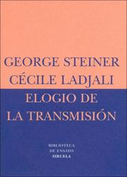 Cover of: Elogio de La Transmision