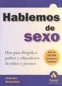 Cover of: Hablemos de sexo